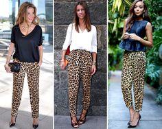 ZARA is the new black: Los pantalones pijama de leopardo en otoño son lo más fashion
