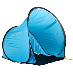Bergsport_Zelte Camping (QUECHUA) - Popup-Schutzzelt Strandmuschel 2 Seconds 0 blau QUECHUA - Zelte