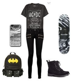 """""""savannah for my story janoskians"""" by blue-from-the-fallen ❤ liked on Polyvore featuring moda, Paige Denim ve H&M"""