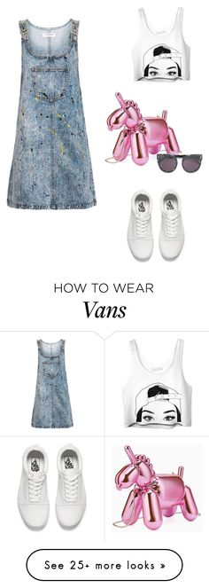 """opening night"" by eri-berry on Polyvore featuring Kate Spade, Topshop, Vans, STELLA McCARTNEY and artshow"