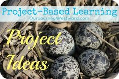 Tons of project ideas for project-based learning from @Cindy West (Our Journey Westward)