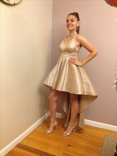 0fae7abad39 Hi-Low Prom dress from Windsor Store.