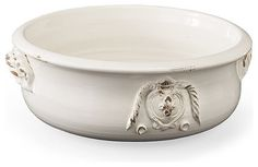 Toscana Italian Collection Large Round Serving Bowl - traditional - Serveware - FRONTGATE