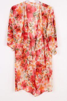 Poppy Chiffon Cardigan | Awesome Selection of Chic Fashion Jewelry | Emma Stine Limited