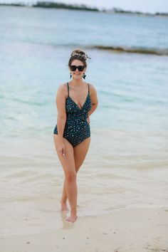 No, I Don't Care What You Think About My Beach Body + My Favorite One-Piece Swimsuits Right Now | Bright on a Budget Swimsuits, Bikinis, Swimwear, One Piece Suit, I Don't Care, What You Think, No Me Importa, Hair Ties, Beachbody