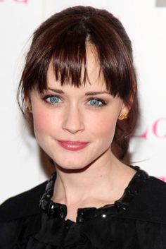 Alexis Bledel -- gorgeous hair and makeup