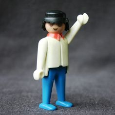 Hello Playmobil. Vintage 1974 toy. Guys by MademoiselleChipotte, $7.95