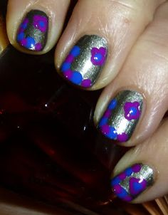 It had been some time since I'd pulled out my dotting tools. Dotting Tool, Some Times, Nail Polish, Nail Art, Nails, Beauty, Finger Nails, Ongles, Nail Polishes
