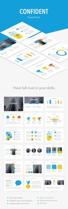 Confident PowerPoint Template. Download here: http://graphicriver.net/item/confident-powerpoint-template/14726315?ref=ksioks