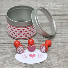 Mini Stempel Set LOVE