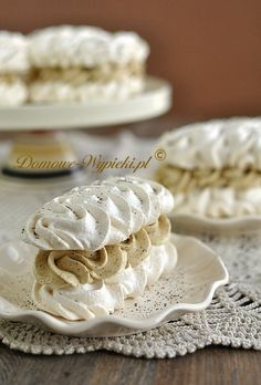 Polish Recipes, Pavlova, Sweet Tooth, Food And Drink, Candy, Cookies, Drinks, Recipes, Kitchens