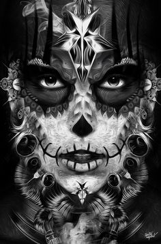 FANTASMAGORIK® MEXICAN VODOO by obery nicolas, via Behance