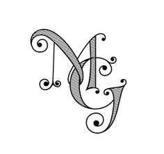 Tailored: New Design: Monograms Galore