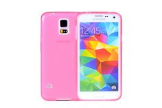 Crystal Clear Standard Soft TPU Rubber Protector Cases for Samsung Galaxy S5 | Lagoo Tech