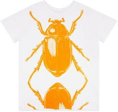 Shop The Lucky Fish Boys Beetle T-Shirt In White At Elias & Grace. Browse The Cutest Boys Clothes From Lucky Fish, Handpicked By Elias & Grace