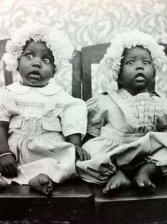 Vintage photos of two beautiful sisters unknown names, but this picture is just beautiful they look like two dolls