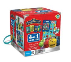 Learning Fun, Number, Color And Shape Recognition, Matching And Strategic Thinking - Chuggington Travel Cube $35.18
