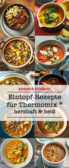 Easy to prepare, extremely tasty: hot stew from the thermo .- Easy to prepare, extremely tasty: hot stew from the Thermomix ®. Here& & # s many delicious recipes from the Thermomix® with vegetables, meat, fish and more! Easy Smoothie Recipes, Easy Healthy Recipes, Meat Recipes, Healthy Snacks, Vegetarian Recipes, Dinner Recipes, Easy Meals, Delicious Recipes, Guisado