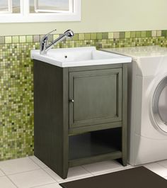 Beautiful Basement Utility Sink