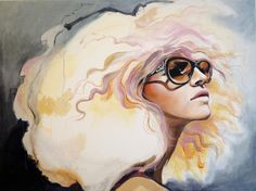 "Saatchi Online Artist: Jessica Rae Sommer; Acrylic, 2012, Painting ""Lavender Heat"""