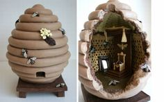 Chocolate Beehive Sculpture, limited-edition