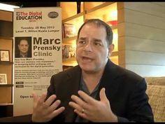 Marc Prensky at Digital Education Show Asia 2013