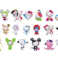 Toys & Knick-Knacks / Collectable Toys / Tokidoki x Hello Kitty Frenzies