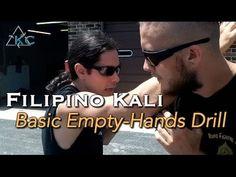 Eskrima Basics EMPTY-HANDS Drill and Techniques - Filipino Kali Arnis Ma...