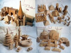 wooden block sets from muji-taiwan, china, paris, world heritage by feltcafe, via Flickr