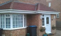 This would work as a whole front vestibule extension Porch Roof Uk, Front Porch Deck, Front Porch Design, Front Porches, House With Porch, House Front, Porch Extension, Extension Ideas, Porch Designs Uk