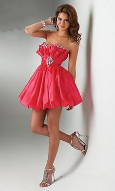 Shop for prom and formal dresses at PromGirl. Formal dresses for prom, homecoming party dresses, special occasion dresses, designer prom gowns. Strapless Homecoming Dresses, Strapless Dress Formal, Dress Prom, Wedding Dress, Pretty Dresses, Beautiful Dresses, Dress Skirt, Dress Up, Pink Dress
