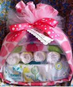 Baby Stork Baby Shower Gift Baby Girl- Diaper Cake by sophia Baby Shower Diapers, Baby Shower Fun, Baby Shower Cakes, Baby Shower Gifts, Fun Baby, Girl Shower, Baby Stork, Stork Baby Showers, Shower Bebe