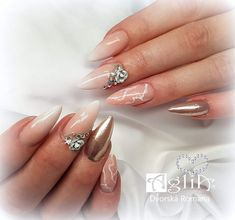 Roses, 3d, Nails, Painting, Beauty, Finger Nails, Beleza, Pink, Ongles