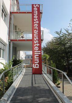 Zeitgleich zum Tag der offenen Tür hatte die Semesterausstellung mit der Finissage ein letztes Mal geöffnet.