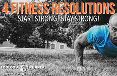 Our list of 4 fitness resolutions you'll be able to keep. Powering your motivation and resolve, and ultimately toward your goals of success in the new year.