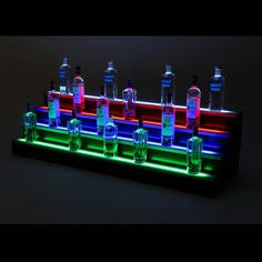 Hey, I found this really awesome Etsy listing at https://www.etsy.com/listing/255905019/6ft-4-step-led-light-shelf-tier-bottle
