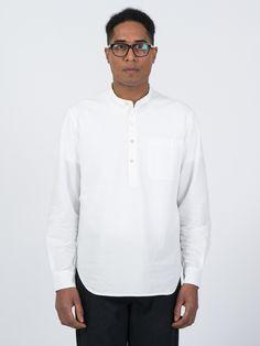 3/4 Band Shirt in white - http://bit.ly/1Ou6Qdn