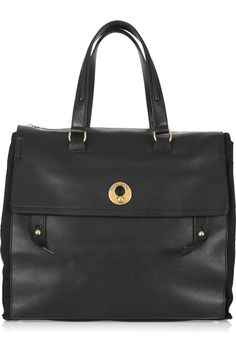 Yves Saint Laurent, Muse two oversized leather tote. Classic, timeless, an everyday piece.