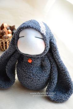 Grace--#323 sock doll