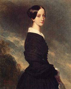 Caroline Gonzague Princesse de Joinville, 1844, Franz Xavier Winterhalter (1805 1873)