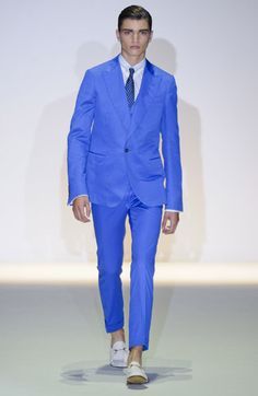 Bright Blue Suit #SpringWear | DAY. | Pinterest | Blue suits ...