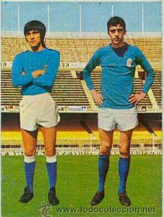 Jacquet y Vicente 1975. Cromos dobles. REAL Oviedo