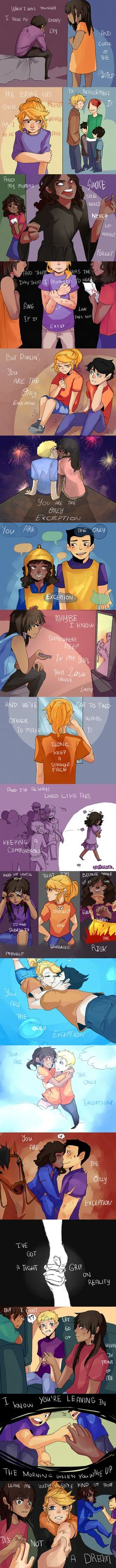 Only Exception- Annabeth, Piper, and Hazel fan art- I love it!!!