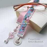Fairytale princess ribbon bookmark by Made 4 your Books