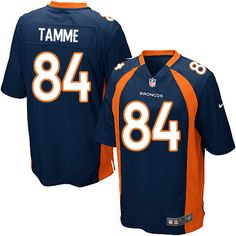 Men's Nike Denver Broncos #84 Jacob Tamme Game Navy Blue Alternate NFL Jersey Sale
