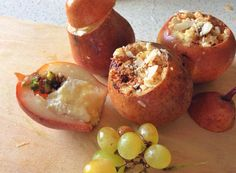 baked pears with mascarpone