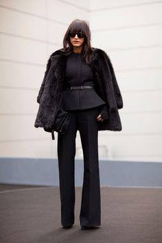 The suit (minus the big fur jacket)