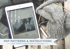 Organizing PDF Patterns & Instructions | Grainline Studio | Dropbox and UPAD3