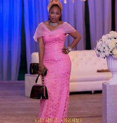 BellaNaija Weddings presents – Vol. 190 – The Latest Aso Ebi Styles Latest Aso Ebi Styles, Ankara Styles, Looking Stunning, African Fashion, Peplum Dress, Asos, Fashion Outfits, Formal Dresses, How To Wear