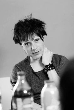 Leader of Indochine, he's the best and I love him. Indochine is one of the best group ever.